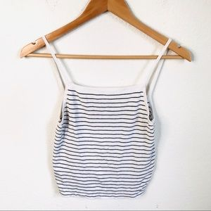 Brandy Melville Knit crop top one size
